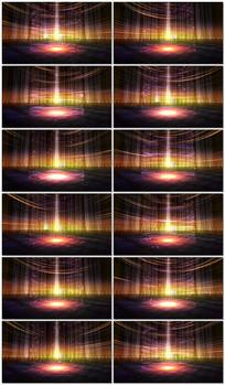 能量场光线视频背景