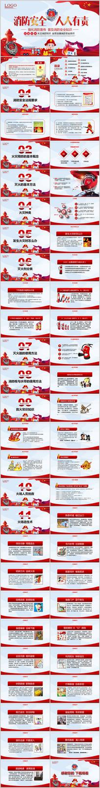 企业消防安全教育培训PPT