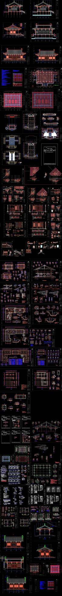 寺庙CAD设计方案