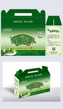潍县萝卜包装设计