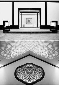 新中式展厅装饰