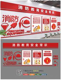 消防教育安全常识文化墙