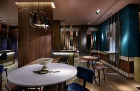 新中式复古酒吧意向