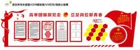 中国共青团学校入团誓词文化墙