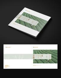 简约茶道茶文化画册封面设计