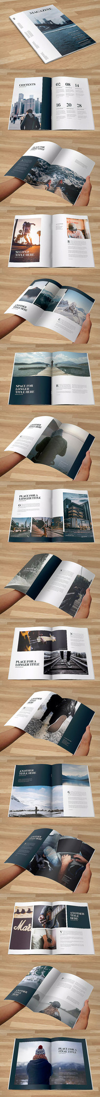 时尚摄影画册