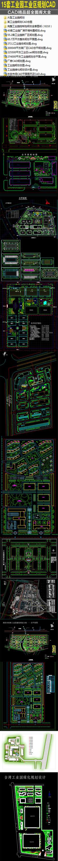 15套工业园工业区规划CAD