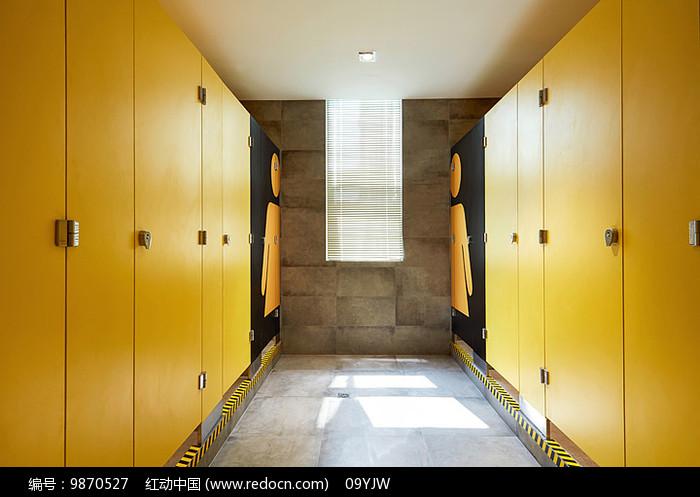 原创设计稿 方案意向 室内装修 创意办公楼洗手间意向图