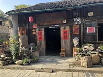 老街古镇店面门头景观 JPG