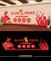 立体中国少先队文化墙