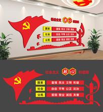 社会主义核心价值观立体文化墙