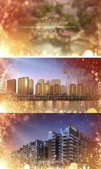 城市房地产图文宣传片AE模板