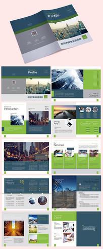 公司介绍宣传册模板