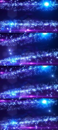 星空粒子星光晚会舞台背景视频