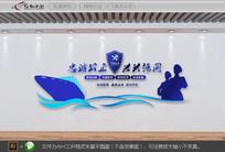 中国海关文化墙