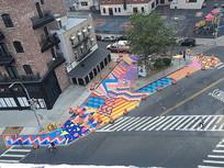 城市街头广场铺装设计