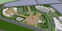 城市设计SU模型