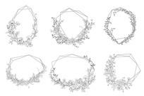 几何植物框架