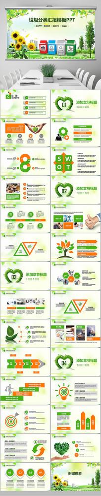垃圾分类城市环境低碳PPT