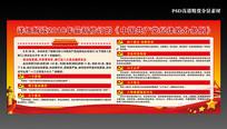 18年共产党纪律处分条例展板