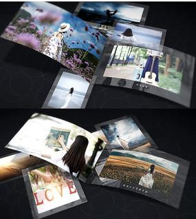 时尚写真手册AE模板