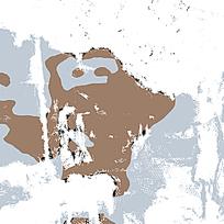 时尚棕蓝喷溅迷彩图案