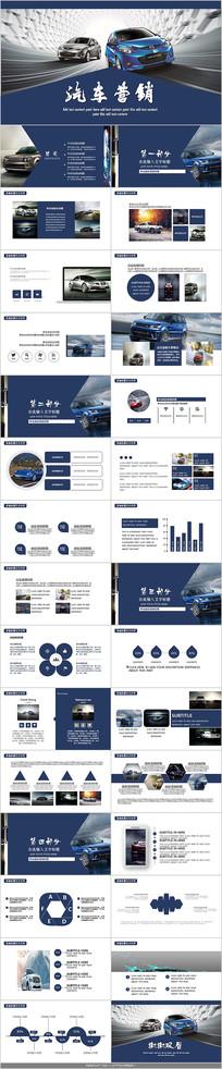 4S店汽车营销PPT模板