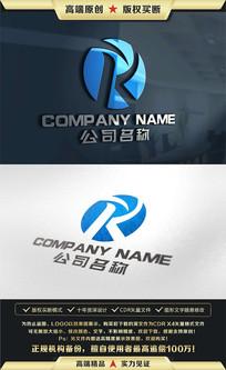 R字母LOGO设计K字母标志