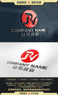 R字母LOGO设计R字母标志