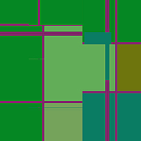绿色系色块素材