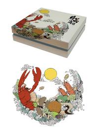 新年海鲜包装礼盒
