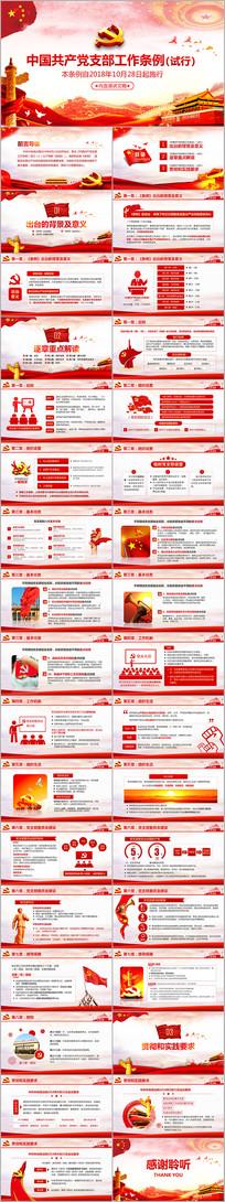 新中国共产党支部工作条例解读