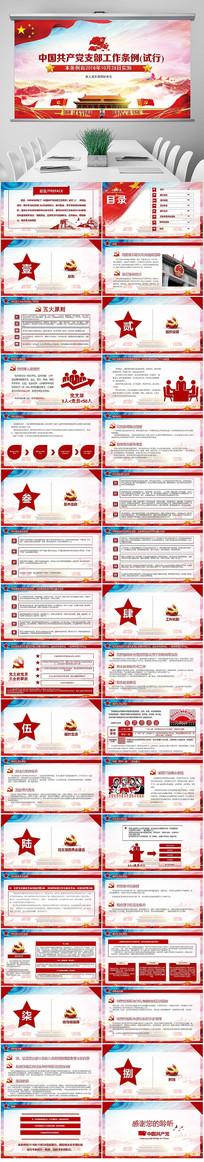 中国共产党支部工作条例试行PPT