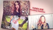 AE唯美浪漫婚礼电子相册模板
