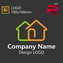 房产LOGO设计 AI