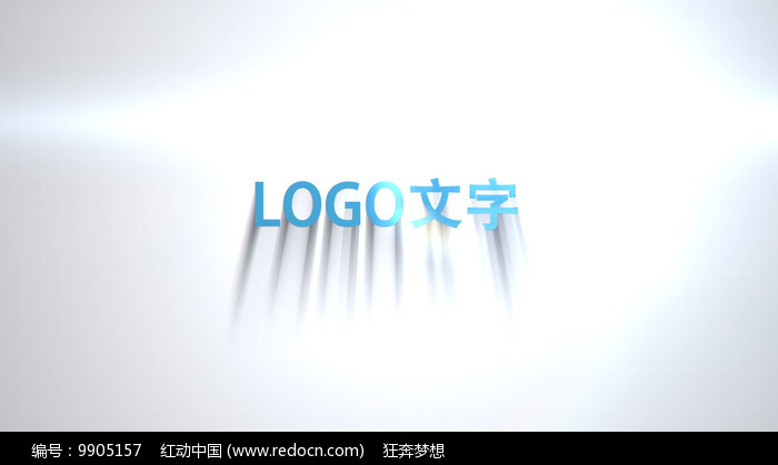 简洁企业LOGO片头AE模板图片
