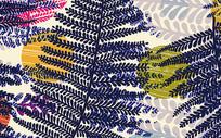 欧式枫叶大气多彩色创意背景墙