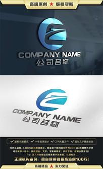 E字母LOGO设计标志设计