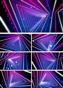 炫彩粒子线条LED视频