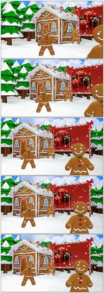 圣诞树圣诞素材视频