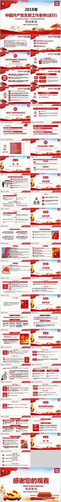 中国共产党支部工作条例