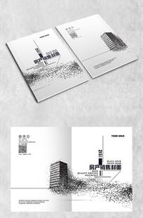 白色简约艺术封面设计 AI