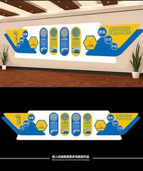 企业公司文化墙展板