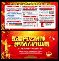 2018宪法宣传周主题宣传栏