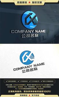 CX字母标志CX字母LOGO