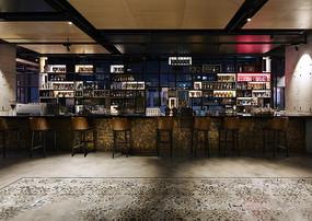 工业风酒吧室内设计