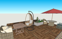 花园休闲桌椅组合,户外桌椅组合