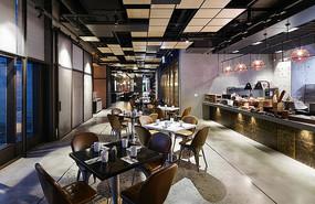 现代餐厅室内装修设计