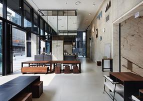 现代简约咖啡厅室内设计意向