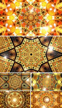 新疆民歌背景视频维族舞蹈背景